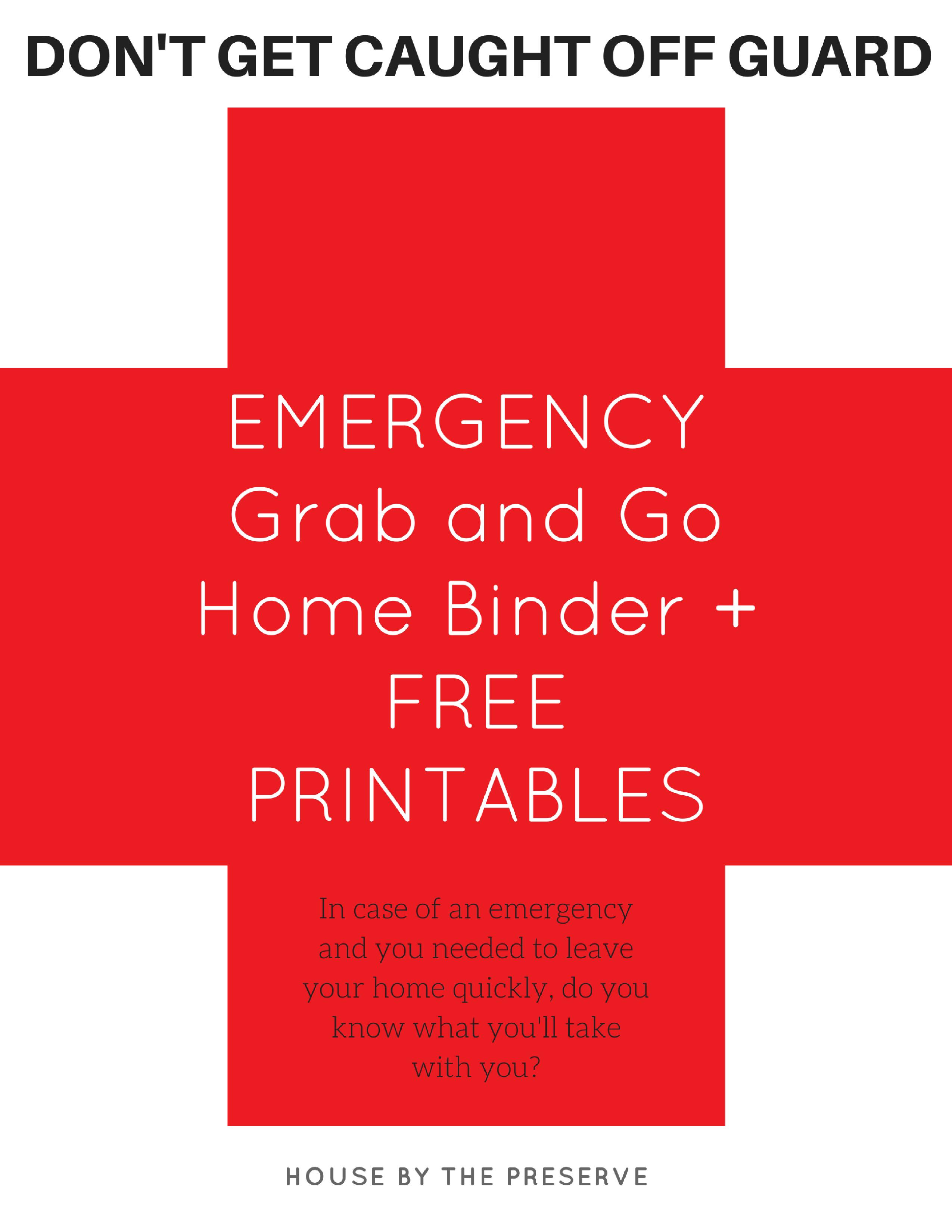 Photo of So erstellen Sie einen Notfall-Grab & Go-Ordner + KOSTENLOSE Ausdrucke! – Haus am Reservat