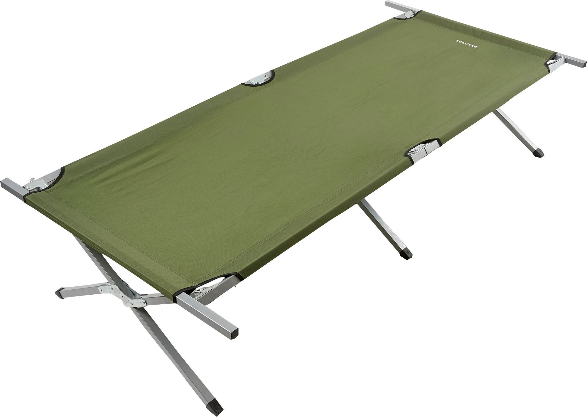 Field & Stream Oversized Camp Cot, Green | Camping cot ...