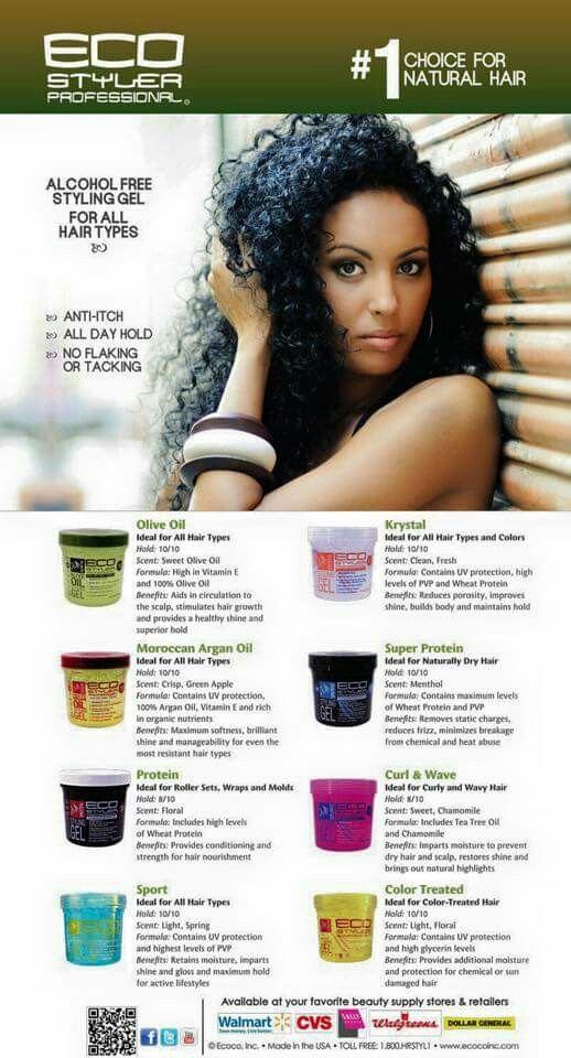 Eco Styler Gel Natural Hair Styles Natural Hair Care Hair Care