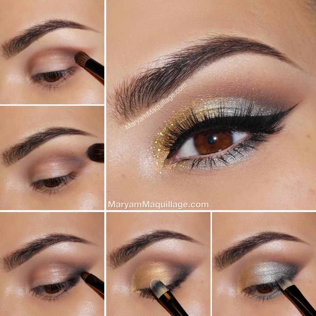 12 incredible eye makeup tutorials feelitcool eye makeup silver and gold eye makeup makeup eye shadow how to diy makeup eye makeup eye liner makeup tutorials eye makeup tutorial baditri Images