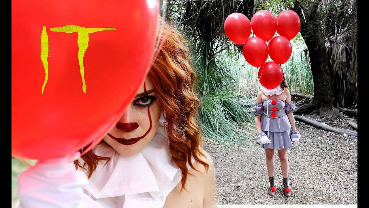 DIY 'IT' PENNYWISE COSTUME TUTORIAL No Sew! Lucykiins