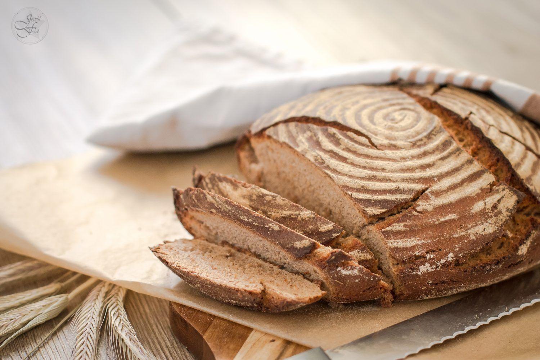 Knuspriges Bauernbrot - wie vom Bäcker