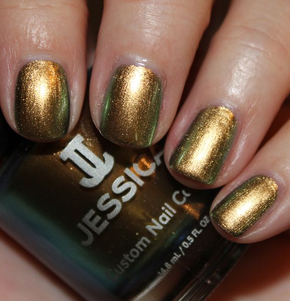 Jessica Iridescent Eye (near dupe for Chanel\'s Peridot) | nail envy ...