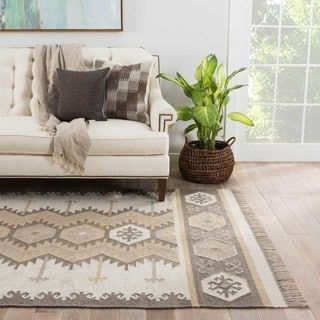 For Sonoran Indoor Outdoor Geometric Gray Taupe Area Rug 5 X 8 Get Free Shipping At Your Online Home Decor Outlet