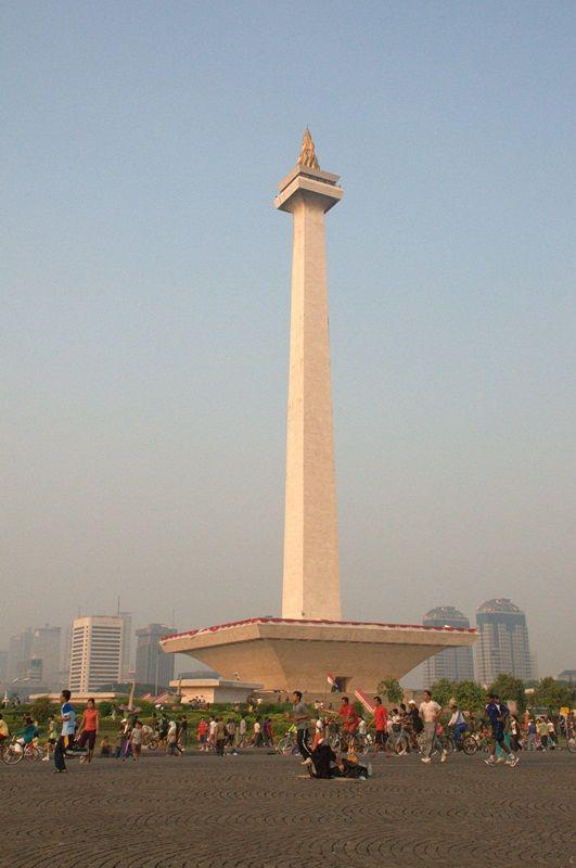 National Monument Monas Jakarta Indonesia Dengan Gambar