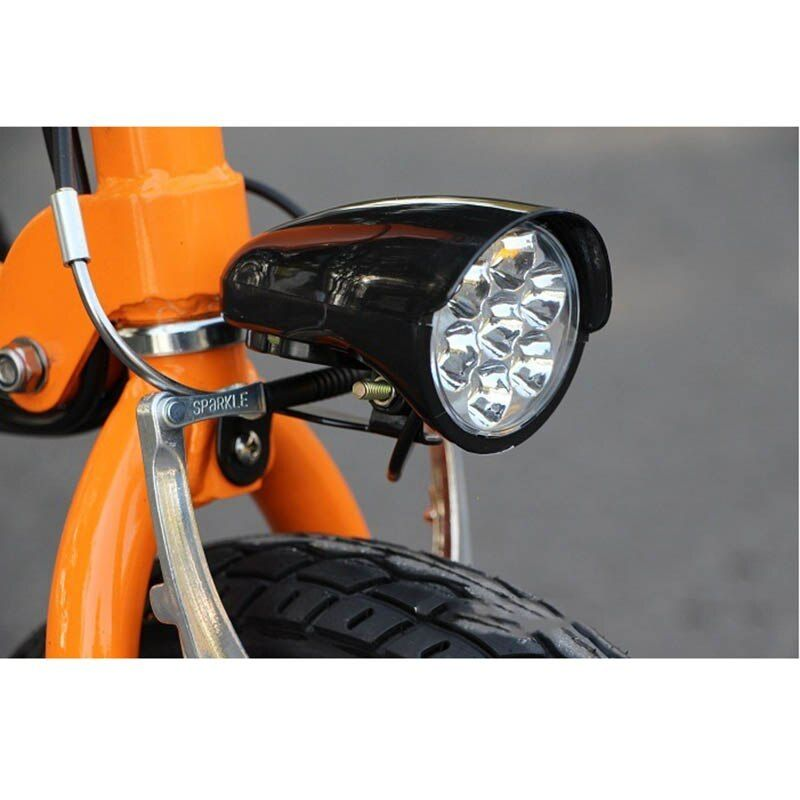 36V//48V eBike Waterproof Front Light Electric Bicycle Headlight with Horn