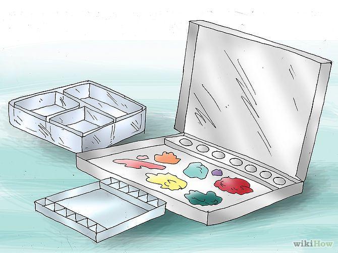 Ache uma paleta de tintas. - Acrylic Paint Step 3.jpeg