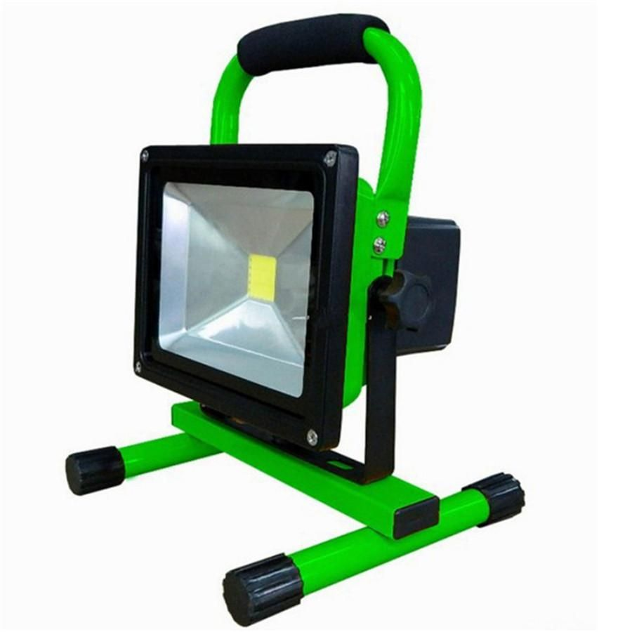 10w 20w Portable Led Floodlight Emergency Rechargeable Lamp Working Time 5 Hours Camping Light Lamp Waterproof I Led Flood Lights Portable Led Flood Lights