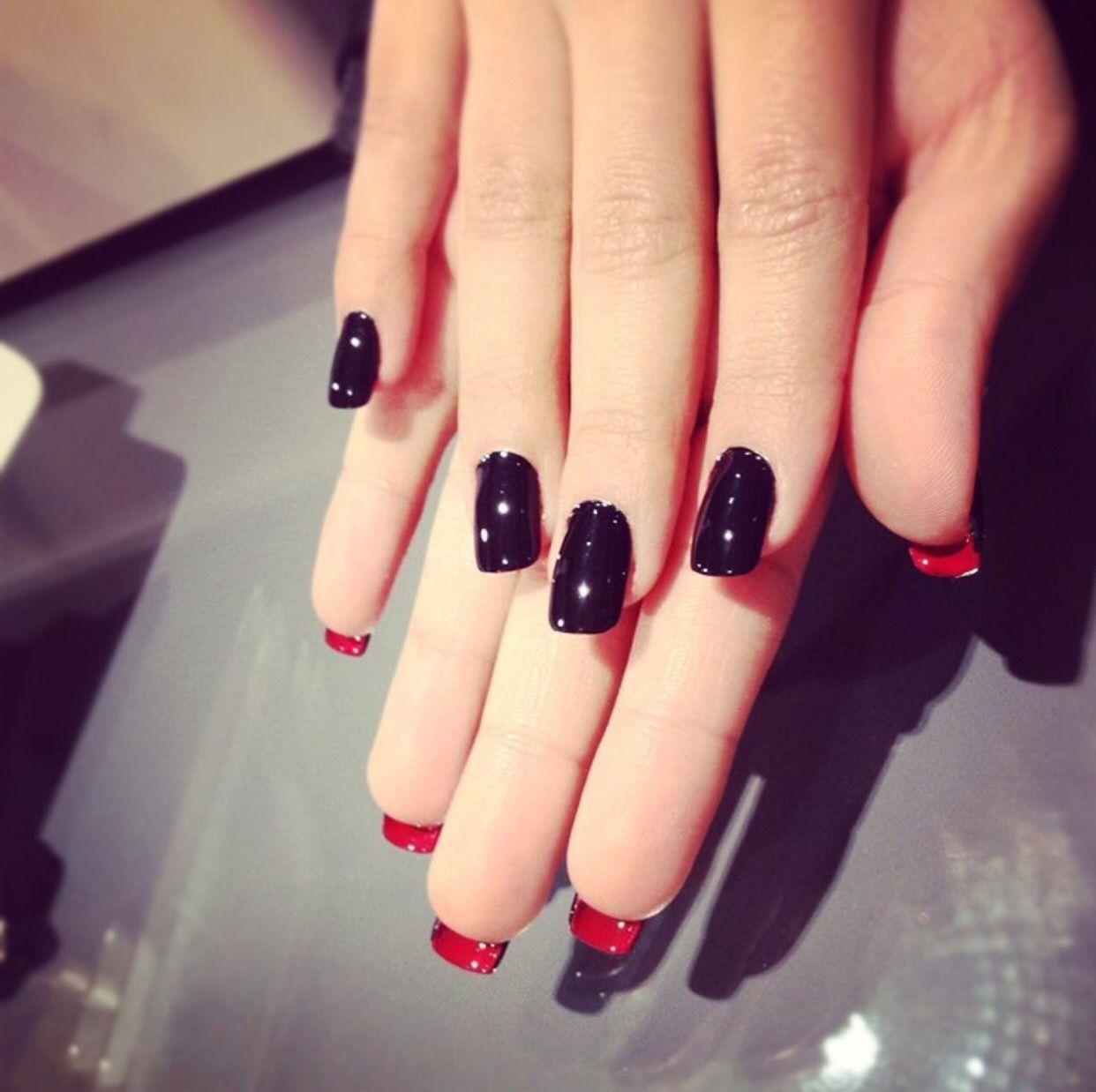 Louboutin inspired nails!! | Nails by Midori | Pinterest