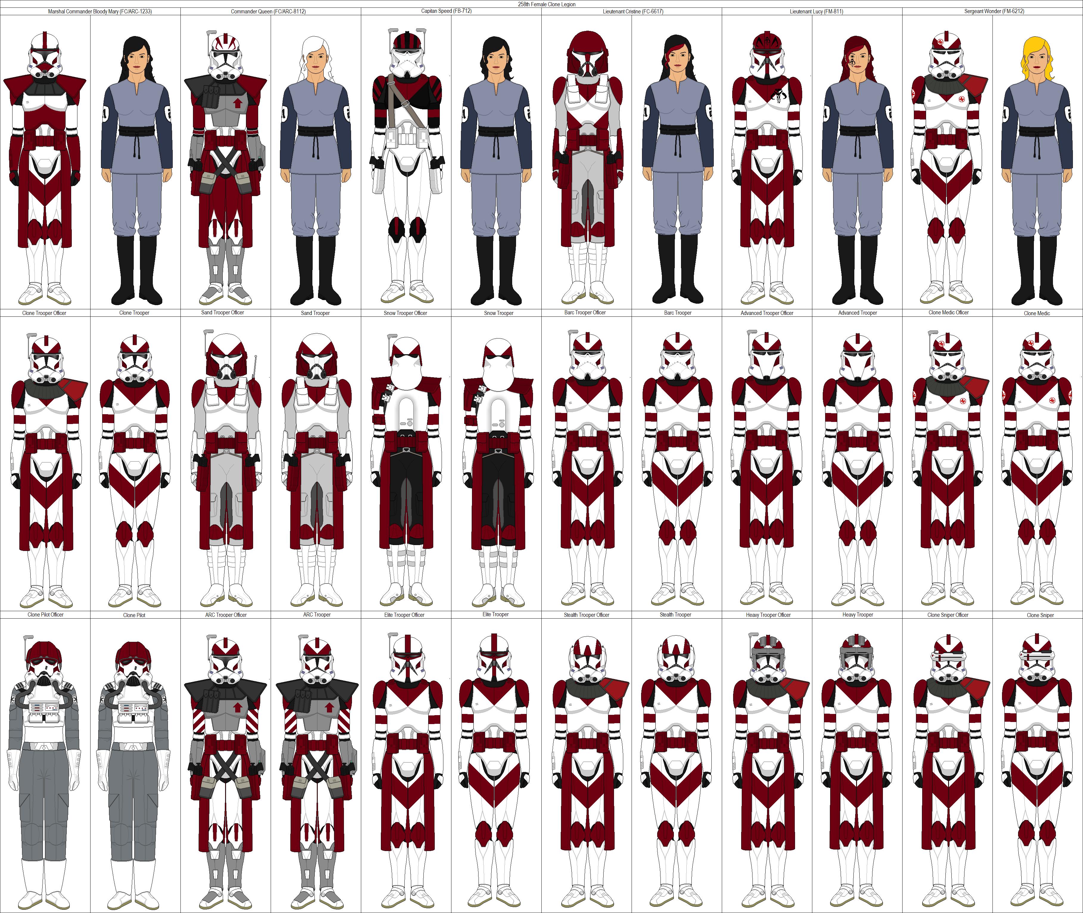258th Legion By Shadowwolfclonect On Deviantart Star Wars Clone Wars Star Wars Pictures Star Wars Trooper