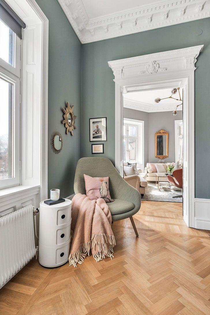 Moderne skandinavische Klassiker (85 qm)  Interieur  Moderne skandinavi #interiordesign