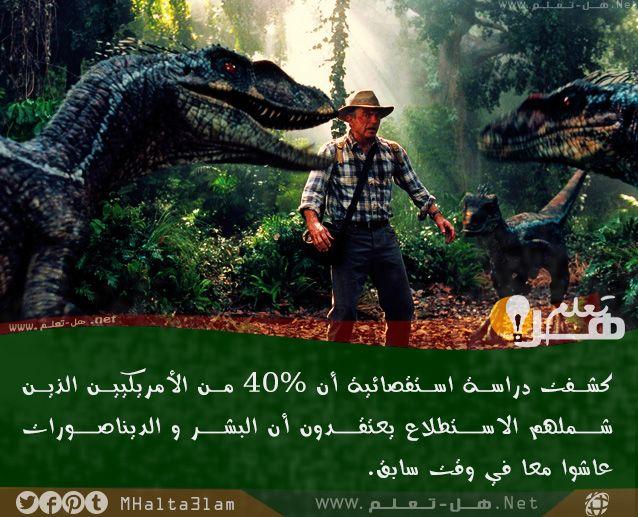 حقائق ومعلومات هامة عن الديناصورات هل تعلم Dinosaur Information Dinosaur Informative