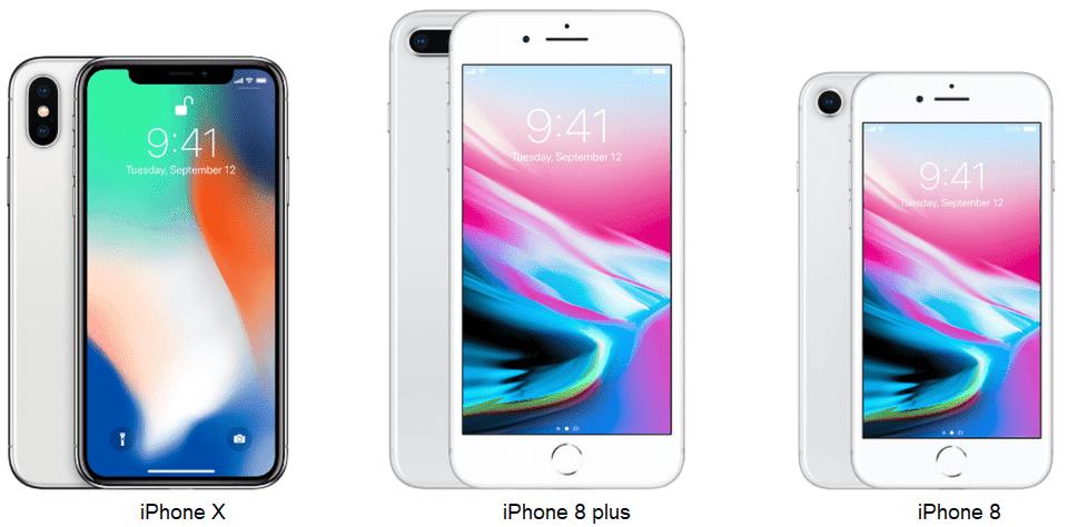 الفرق بين ابل ايفون 8 و ايفون 8 بلس وايفون Iphone 8 Plus Vs Iphone 8 Vs Iphone X مواصفات Iphone Iphone 8 Plus Iphone Watch Bands