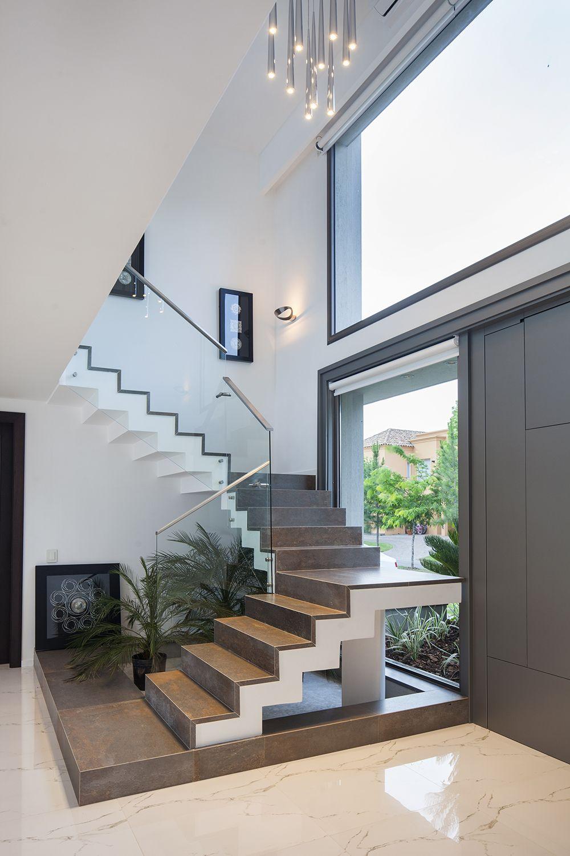 Estudio Gamboa Casa Msc Escaleras Para Casas Pequenas Diseno De Escaleras Interiores Casas De Ensueno