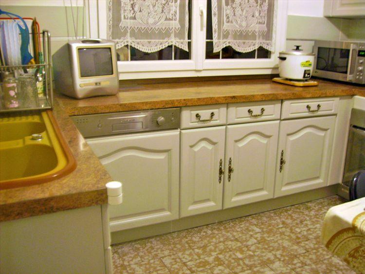 Conseils pour repeindre cuisine en chêne Maison Pinterest - Repeindre Un Meuble En Chene