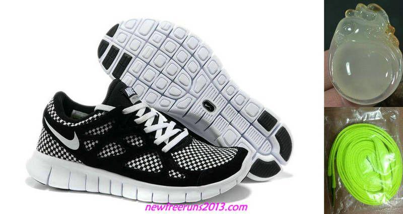 pretty nice 1a79e cdfa0 Chalcedony Dragon Volt Lace Mens Nike Free Run 2 Woven Liberty Black White  Shoes