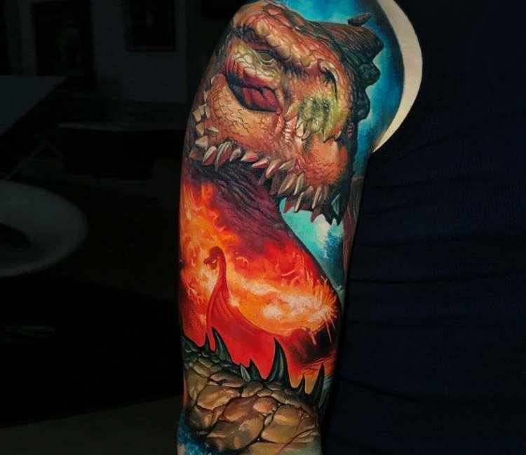 Leviathan Tattoo By Boris Tattoo Post 24835 Leviathan Tattoo Tattoos World Tattoo