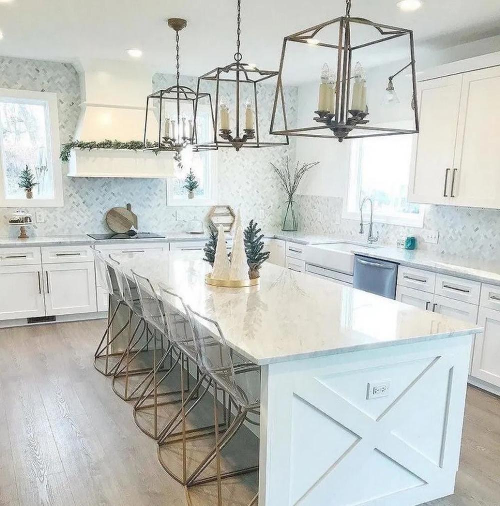30 Best Farmhouse Table Dining Room Decor Ideas: Top 30 Best Dining Room Table Design 1