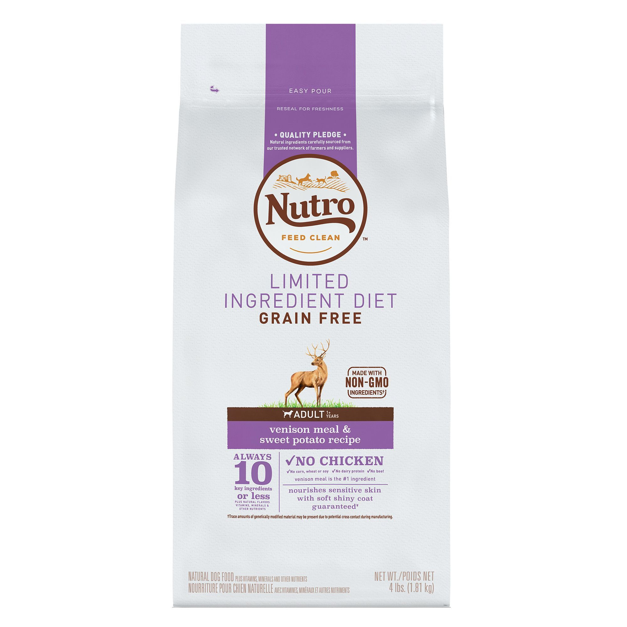 Nutro Limited Ingredient Diet Dog Food Natural Grain Free