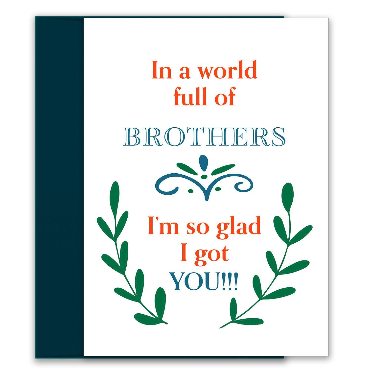 In a world full of sisters birthday card for your sister