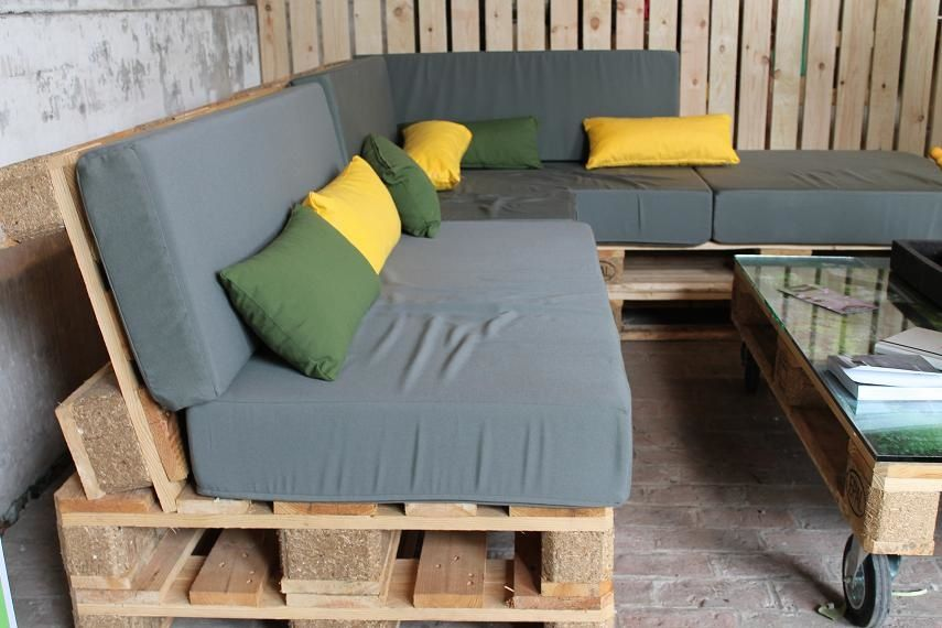 Construire un salon de jardin en bois de palette | meuble jardin ...
