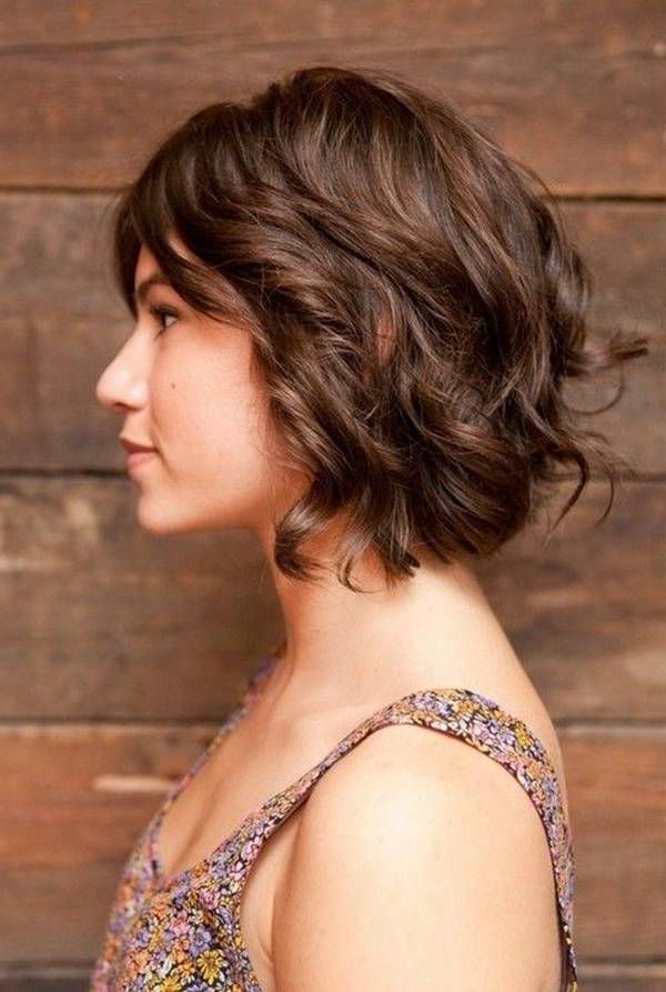 Wavy Brown Medium Short Hair Google Search Style Pinterest