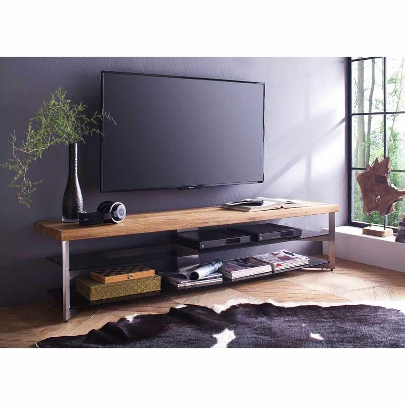 Meuble Tv Acier Bois Luxe Meuble Tv En Verre Design Trendy