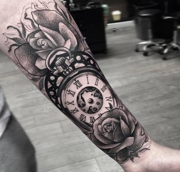 tatuajes de reloj tattoos pinterest tatuaje de reloj tatuajes y reloj. Black Bedroom Furniture Sets. Home Design Ideas