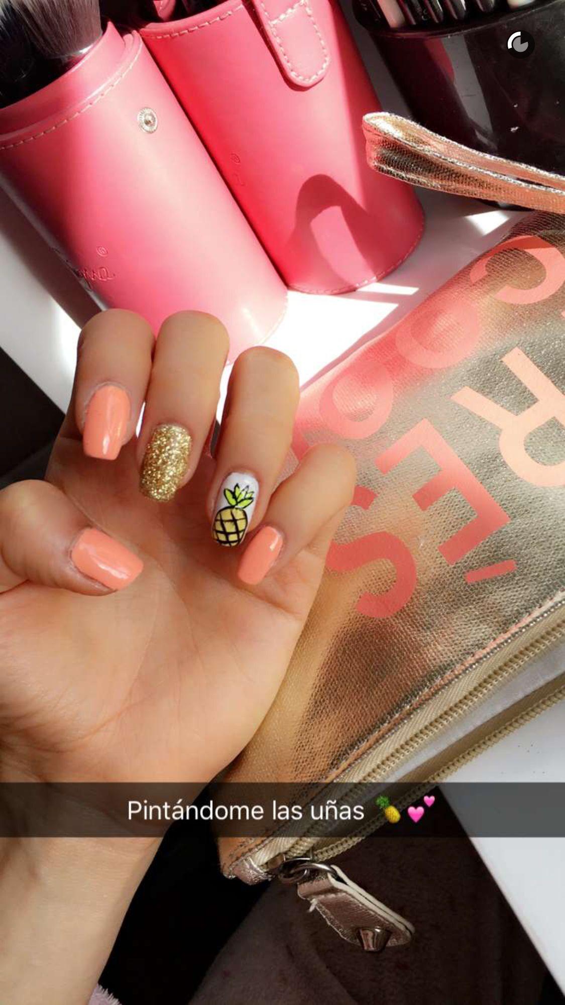 Pineapple nails luau party makeup nails pinterest pineapple nails luau party makeup prinsesfo Choice Image