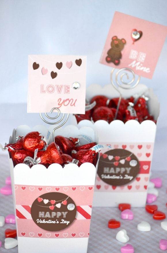 Quick and easy DIY Valentine's Day goody bag for the kids