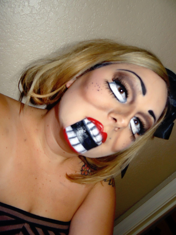 DUMMY MAKEUP #HALLOWEENMAKEUP #halloween #makeup #sugarskull #sfx ...