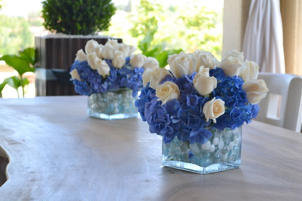 Floral Baby Boy Shower Centerpieces Floral Arrangement Baby Shower