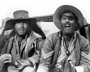Clint Eastwood and Eli Wallach in The Good, the Bad and the Ugly