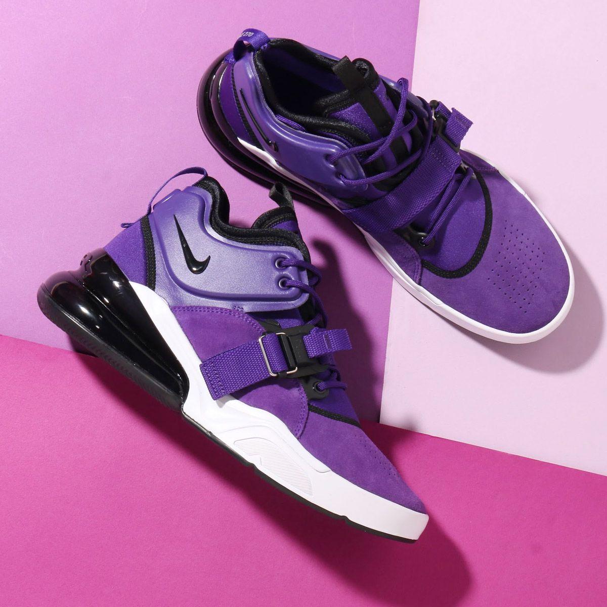 Nike Air Force 270 Qs Court Purple Aq1000 500 Usd 200 Hkd 1570