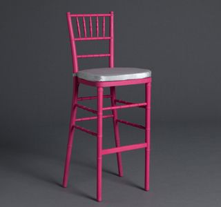 Hot Pink Chiavari Bar Stools | Be Our Guest Party Rental