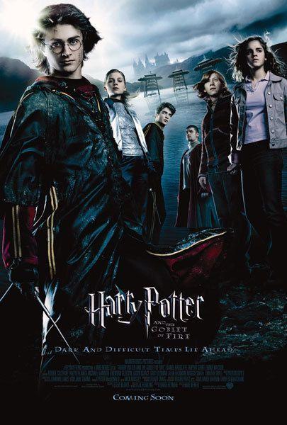 Harry Potter 4 Probably My Favorite Harry Potter Goblet Harry Potter Movie Posters