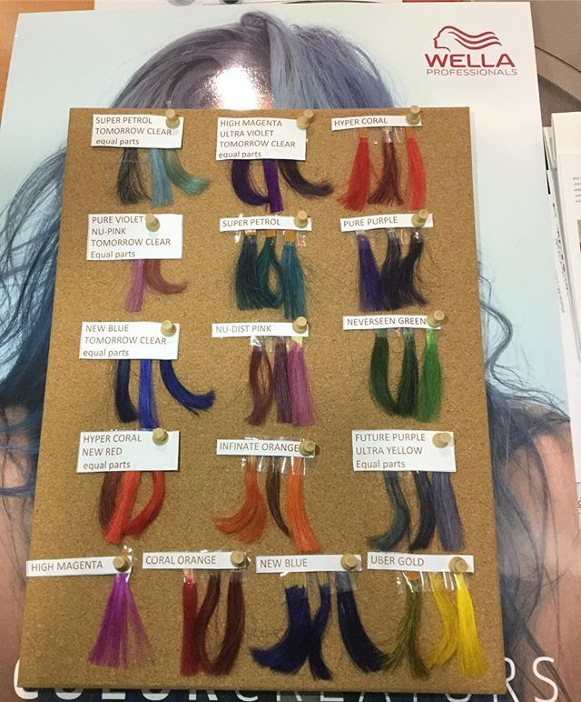 New colour create chart wella wellacolor wellacolourcreate also rh pinterest