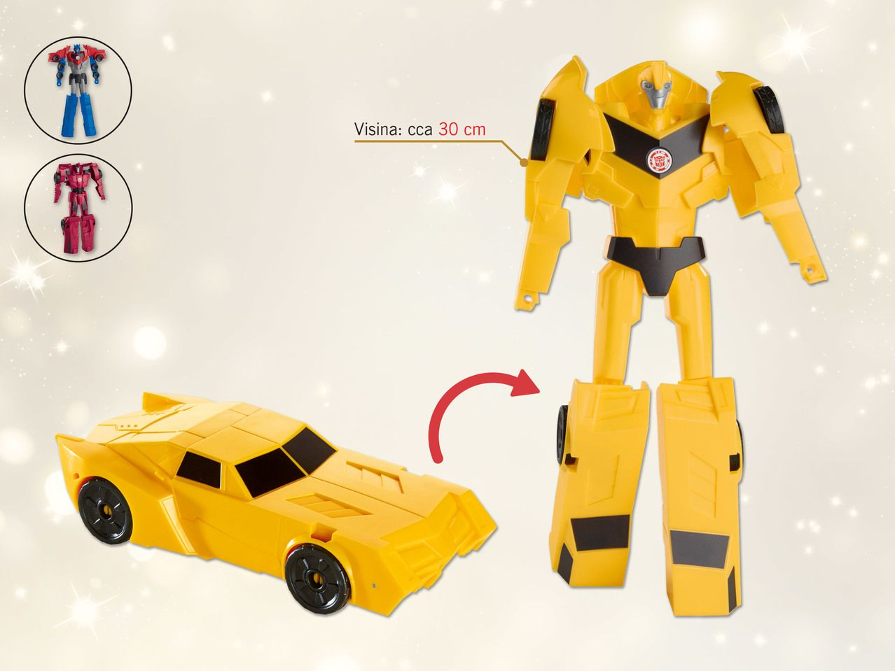 Figura Transformers U Lidl Hrvatska Toy Car Lidl Transformers