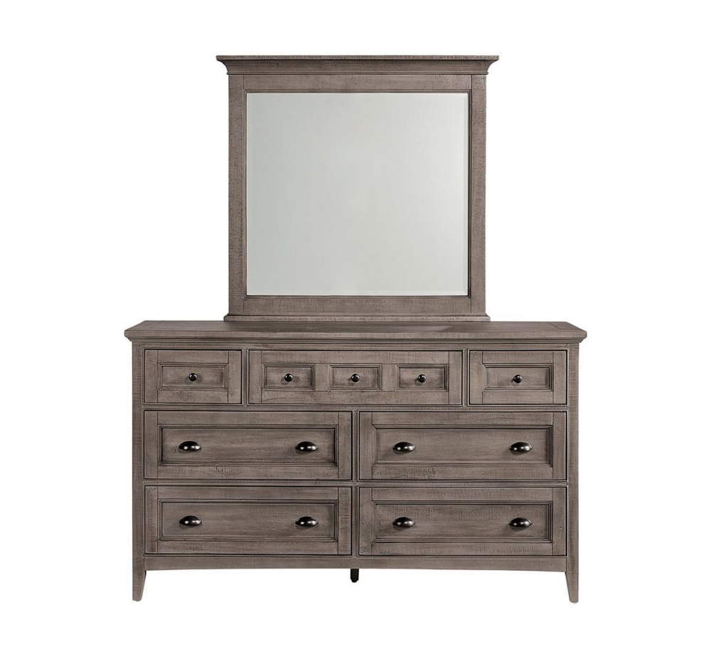 Picture Of Keaton 5 Piece King Bedroom Set Dresser With Mirror