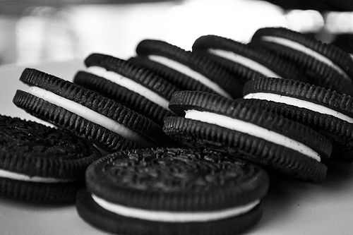 Cookies. #black white