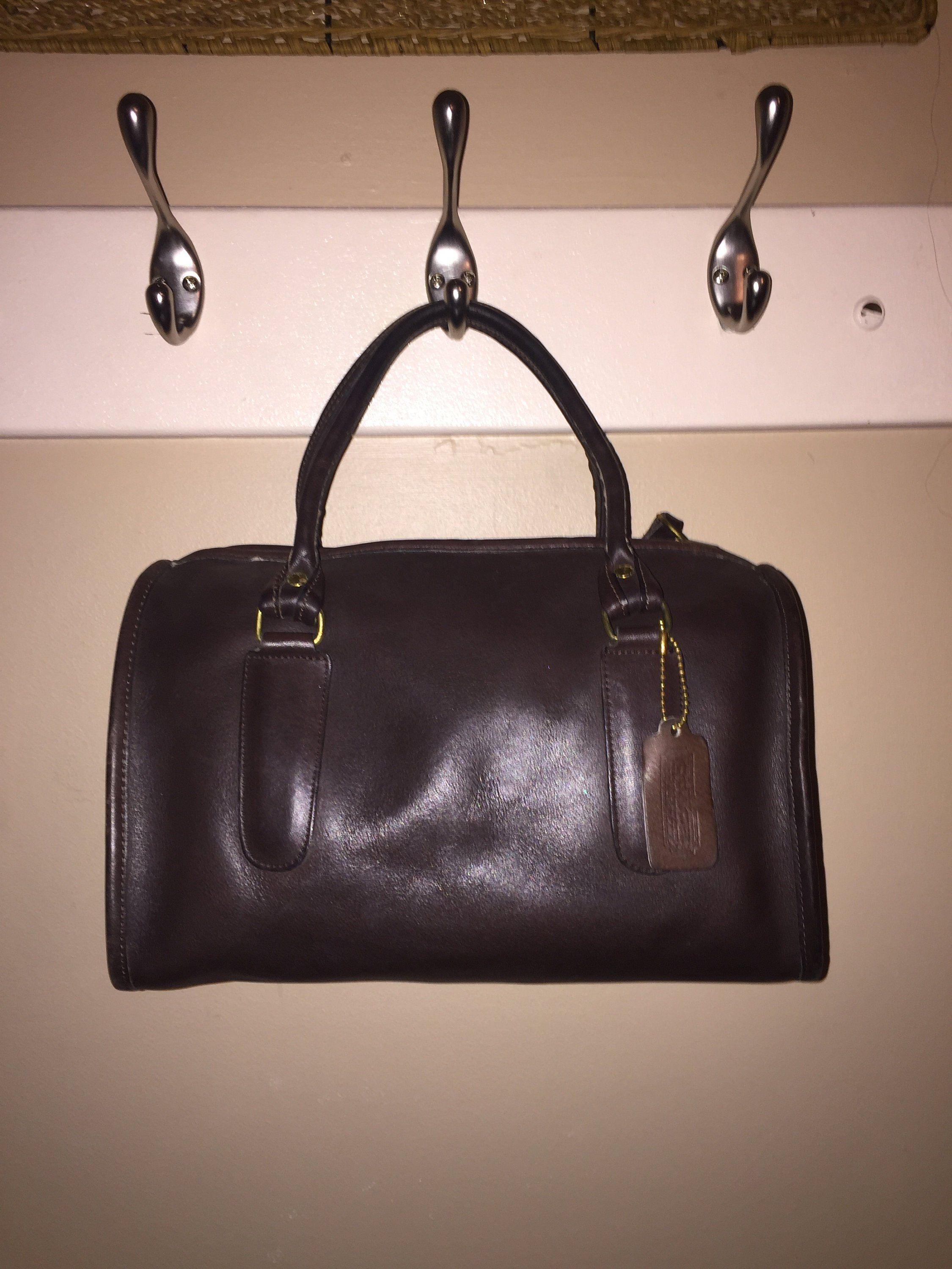 Coach Vintage Brown Doctor Satchel Bag New York City Usa 103 3618 By Coachcrossing On
