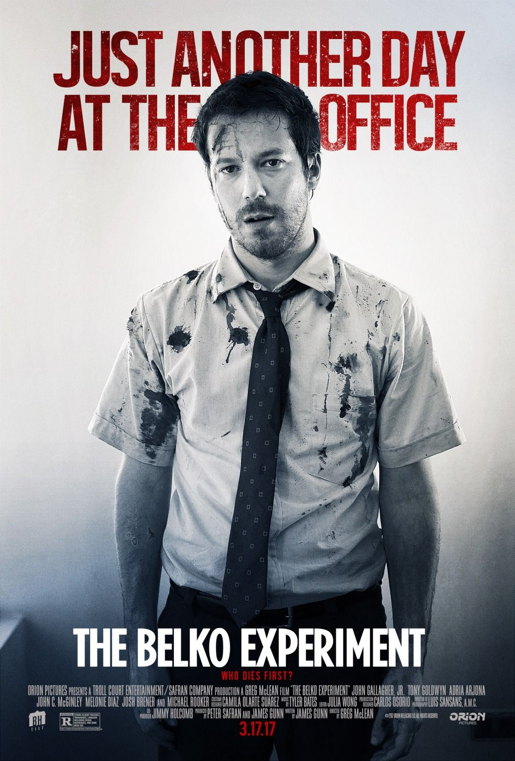 Return to the main poster page for The Belko Experiment