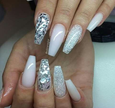 this silver and silver dust is on point you can wear it