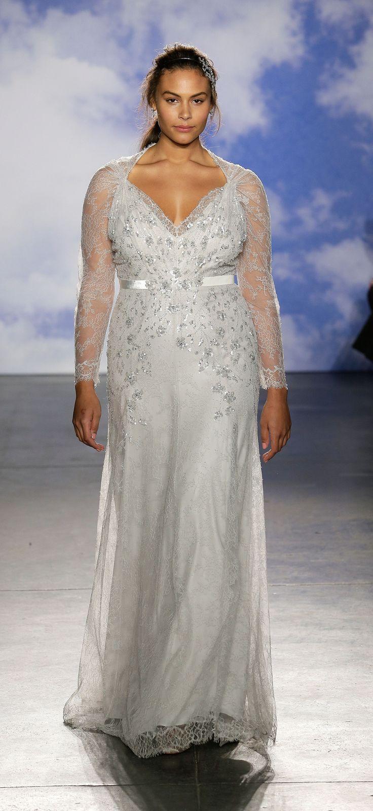 Jenny Packham Gives Plus-Size Brides Some Gorgeous Options | Jenny ...