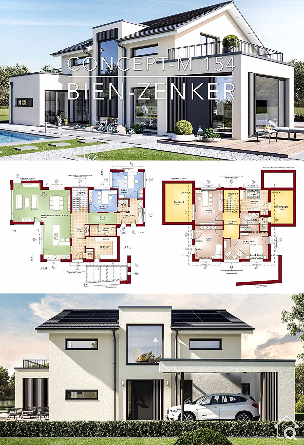 Modern Architecture House Plans Design Concept M 154 Dream House Plan Ideas In 2020 Modern Architecture House Architectural House Plans Modern Architecture Interior