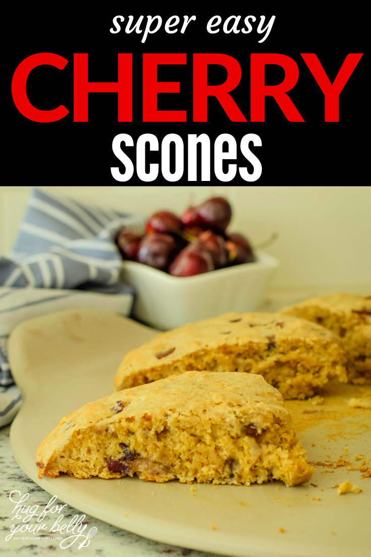 Easy Scones Recipe With Sour Cream And Cherries In 2020 Scone Recipe With Sour Cream Scones Recipe Easy Classic Scones Recipe