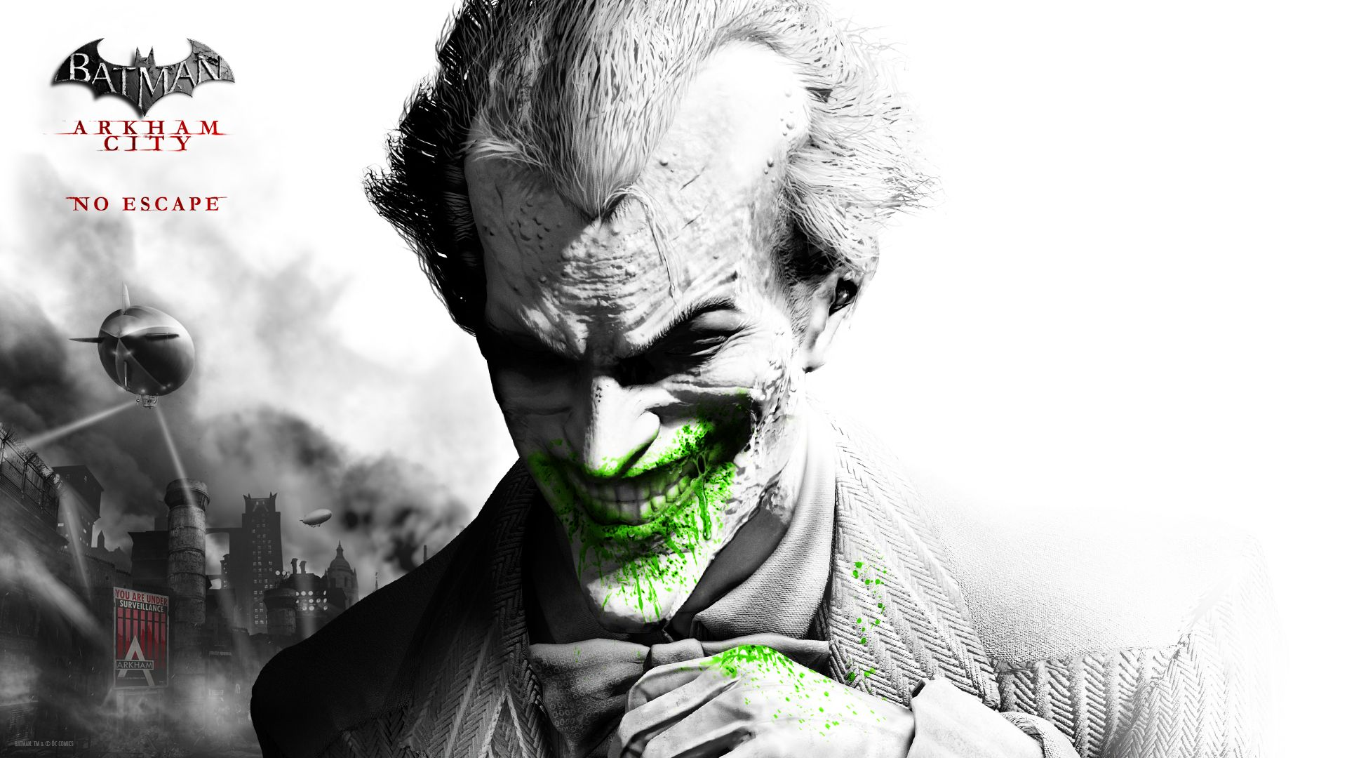 Batman Arkham City Wallpaper Joker
