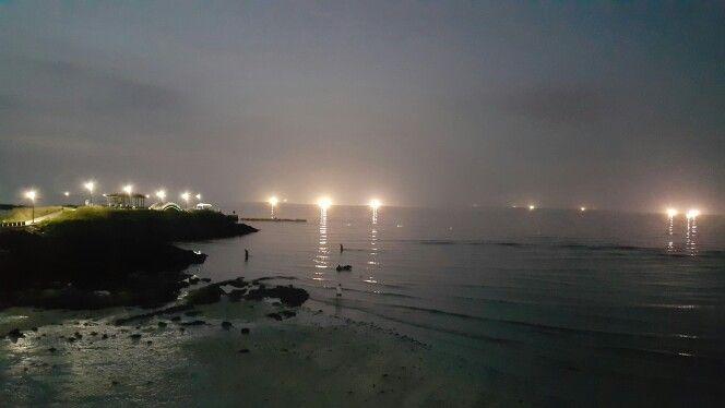 함덕해수욕장 야경