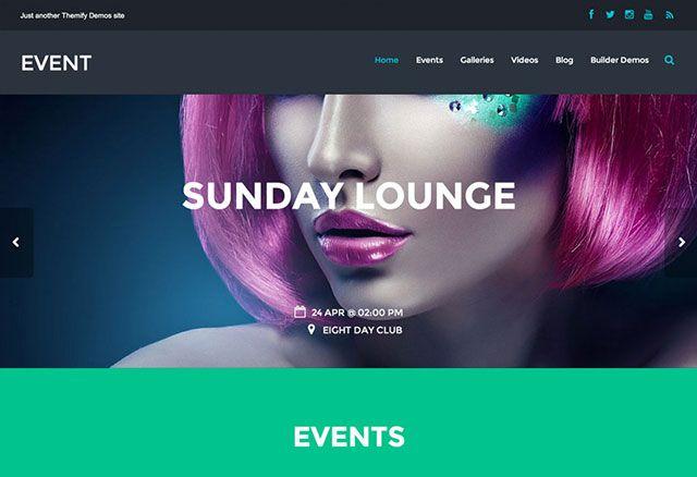 15+ Best Event WordPress Themes 2016 - Useful Blogging