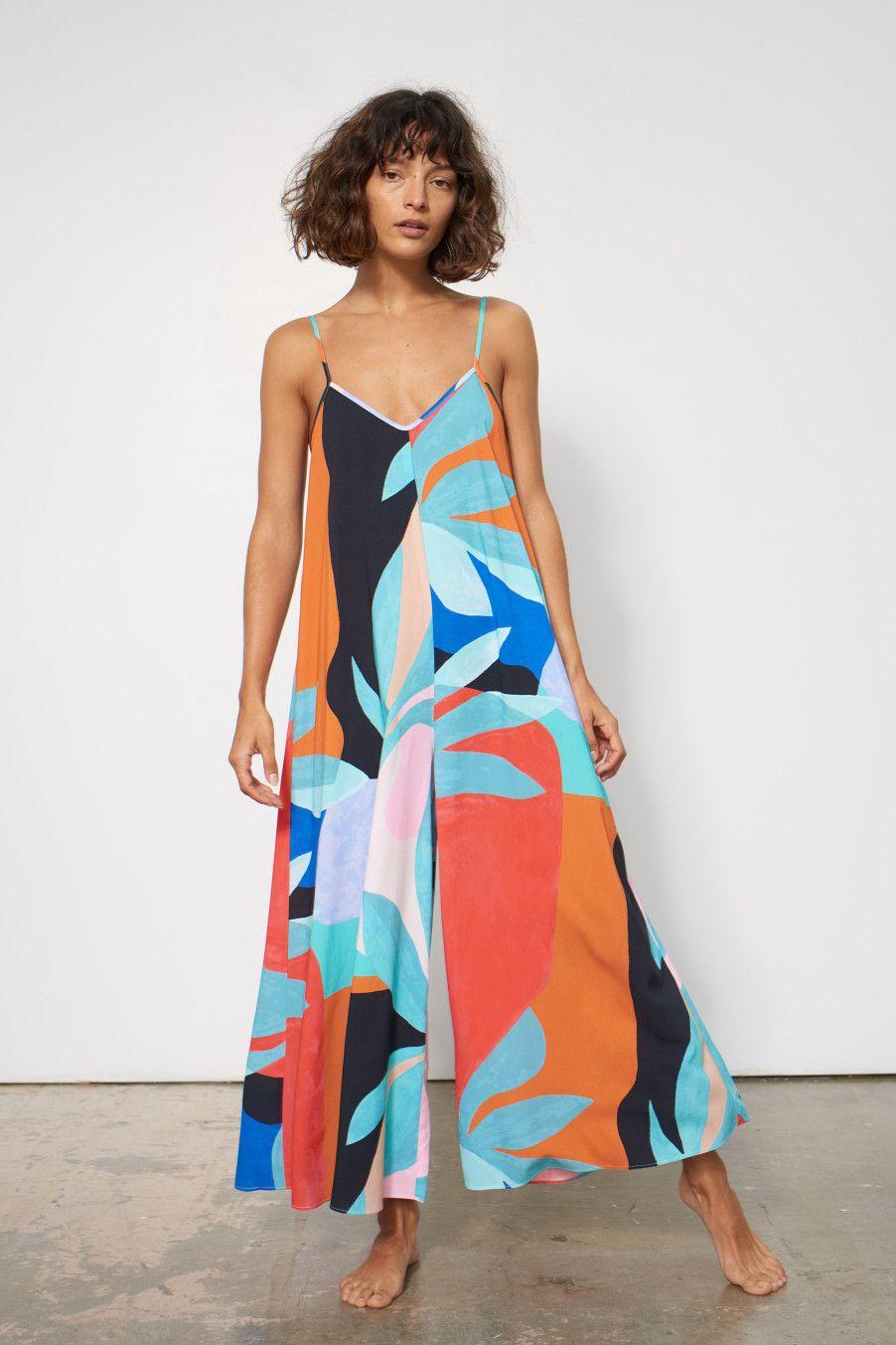 5946819292 CARLY JUMPSUIT  MaraHoffman Fashion Stores